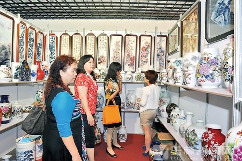 第三届中国(北流)国际陶瓷博览会开幕