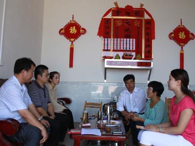 促进会副秘书长陈琳带队到议嵘茗香茶源有限公司调研采访