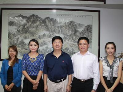 促进会副秘书长陈琳带队到贺州市八步区调研采访