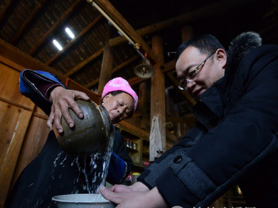 味蕾上的桂林美食:龙脊水酒高山上的清泉醇酿