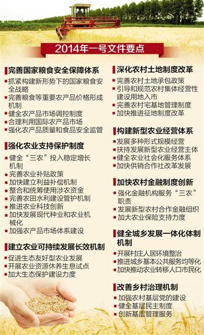 中央一号文件规定:农民承包经营权将可抵押担保