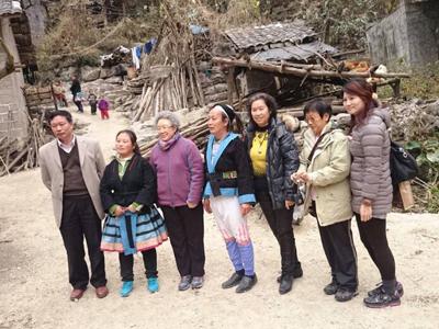 促进会牵线香港同胞深入南丹县瑶乡考察扶贫项目