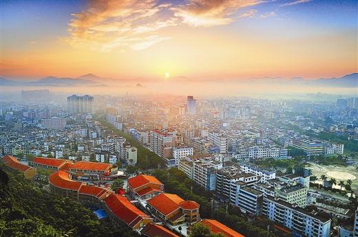 灵山县城镇化率达41%