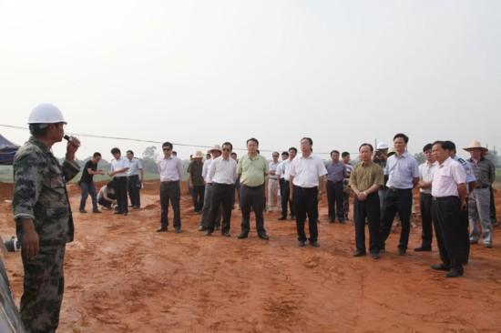 龙州县召开2014年旅游项目推进会