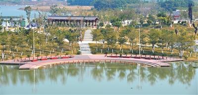 田东县湿地公园:地标式城市生态中心