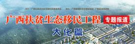 广西扶贫移民搬迁工作专题报道大化篇