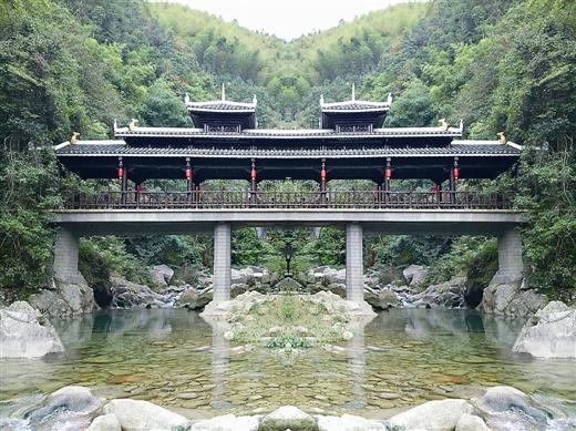 融水龙女沟荣登4A景区