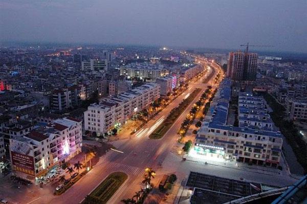 合浦县地图_合浦县人口