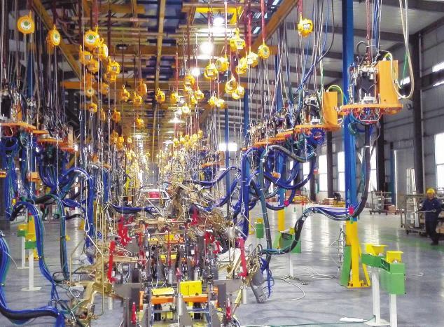 柳城县沙埔工业园在反差中感受转型升级