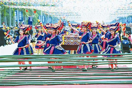 """武鸣""""壮族三月三""""歌圩暨骆越文化旅游节4月21日上午10时隆重开幕"""