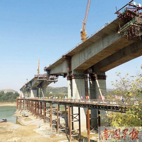 广西5条高速公路年内通车 南宁至象州将缩短1小时