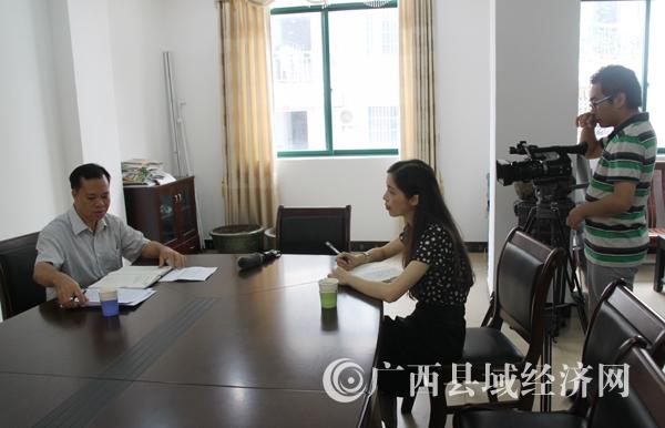促进会派出采访组到东兴市采访、作网络专题服务