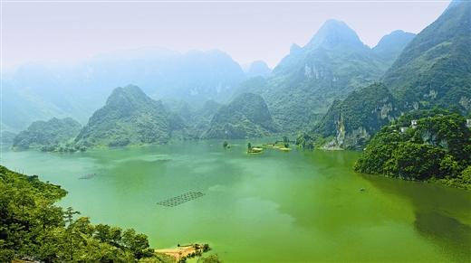凌云县浩坤湖国家湿地公园
