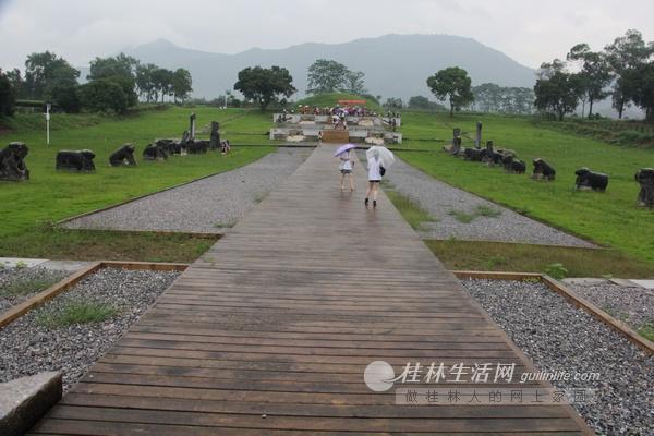 靖江王陵考古遗址公园规划方案敲定 将成桂林最大公园