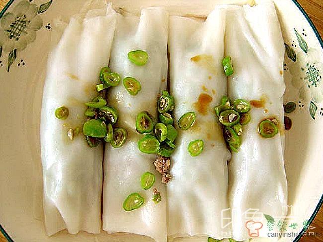 广西的小吃――卷筒粉