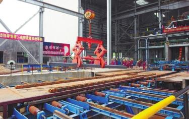 [博白县]龙潭产业园11个项目开(竣)工 总投资约25亿元