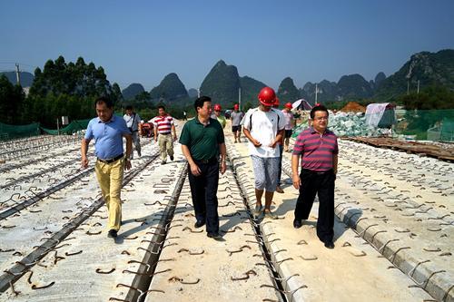 融水县委书记杨恩维调研城镇化重点项目建设