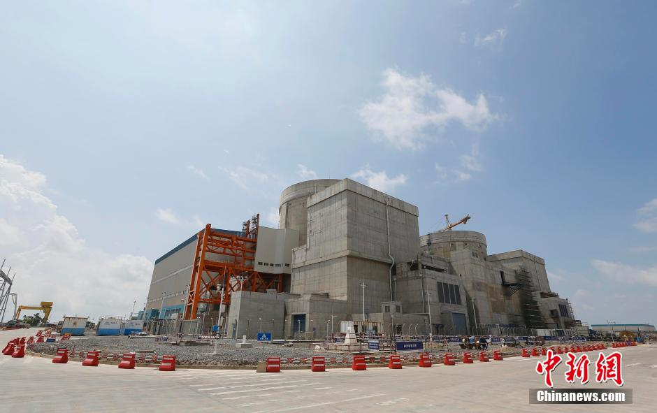 西部首座核电站中广核防城港核电站1号机组并网发电
