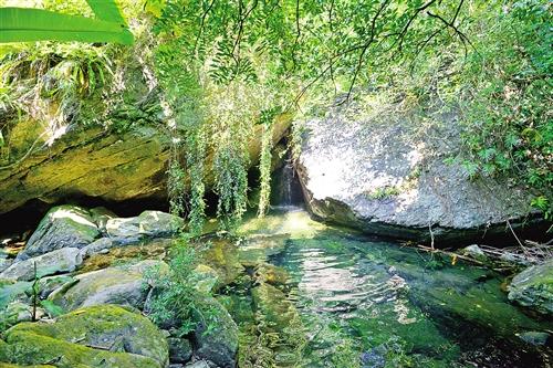 南宁旅游处女地之一赵江峡谷:氧吧存于山中
