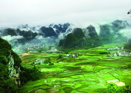 东兰县泗孟乡