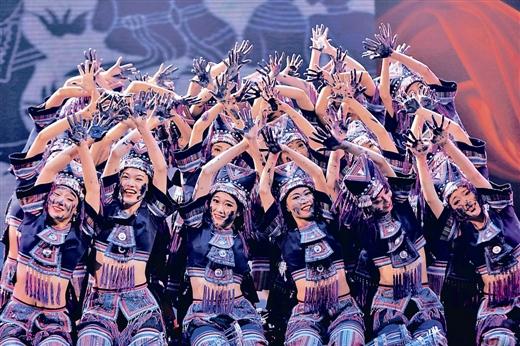 第八届广西音乐舞蹈比赛:歌传壮乡韵 舞动八桂风