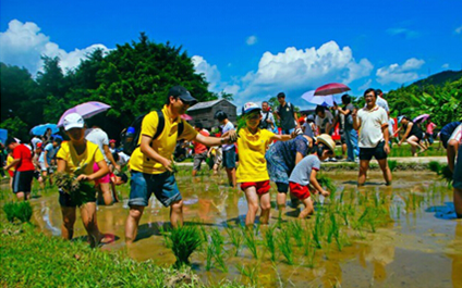 九曲河自然风景区健康领地