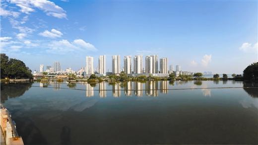 柳州市城中区现代服务业发展掠影:流金淌银看楼宇