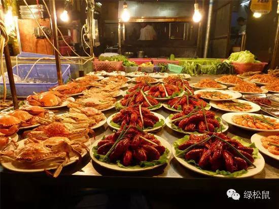 南宁中山路上榜中国最火爆十大美食街