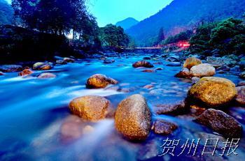 姑婆山:南国天然氧吧 瀑布森林公园