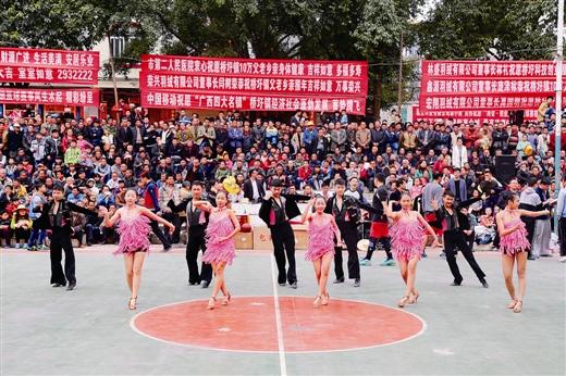 """港南区:""""乡村NBA""""劲爆上演"""