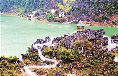 凌云浩坤湖景区春节期间正式对外开放