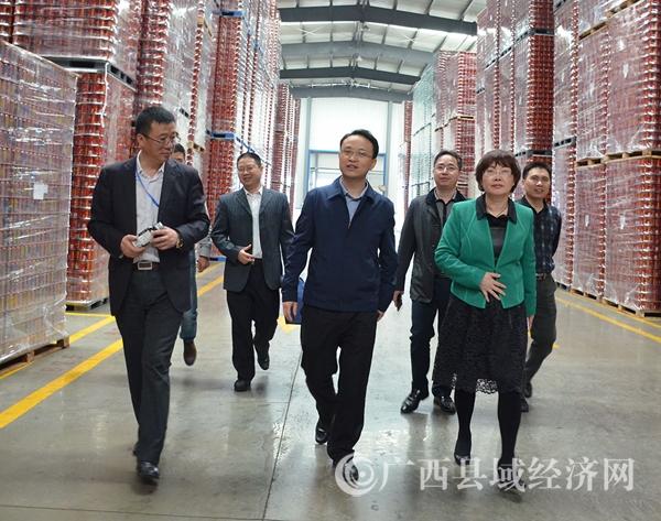 王方红: 加快发展壮大产业 做大做强县域经济