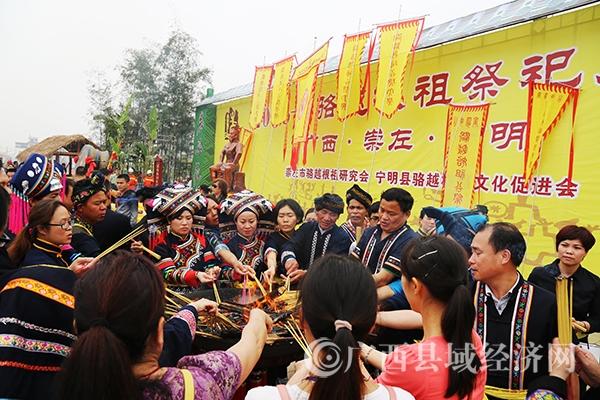 [宁明县]2016骆越王节隆重举行 亮点频闪特色纷呈