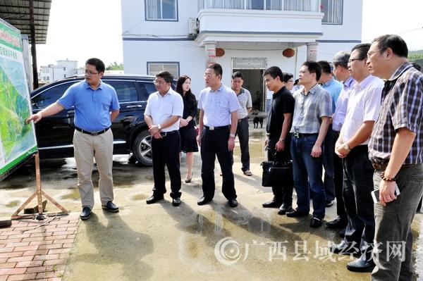 自治区人民政府驻广州办事处领导到平桂调研