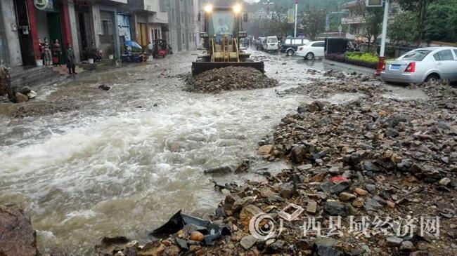 [金秀县]突遭暴雨袭击 农作物受灾16133亩 水利设施损失750万元