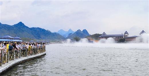 """[上林县]""""中国旅游日""""活动亮点纷呈: 品壮家文化 游醉美上林"""