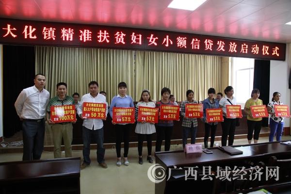 [大化县]举行精准扶贫妇女小额信贷发放启动仪式