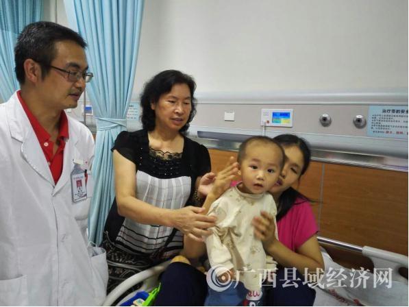 县促会牵线香港众善堂捐资救治广西第五例特困先心病人