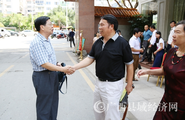 区发改委地区处副处长林鸿出席第一期通讯员培训交流会