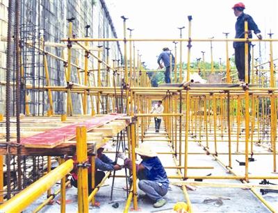 [天峨县]投资近亿元开展城区基础设施建设
