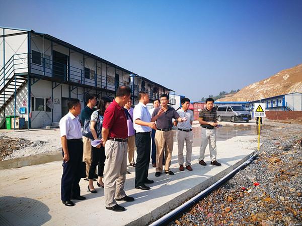 自治区发改委重大处派员参加珠江-西江经济带(广西)重大建设工程专项督查