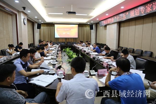 """广西县域经济发展""""十三五""""规划通过专家评审"""