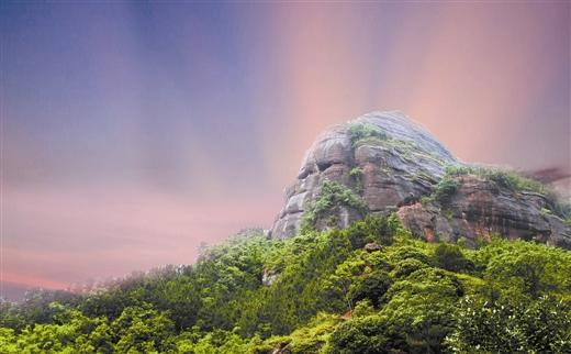 周末一日游 去看奇妙烟霞山