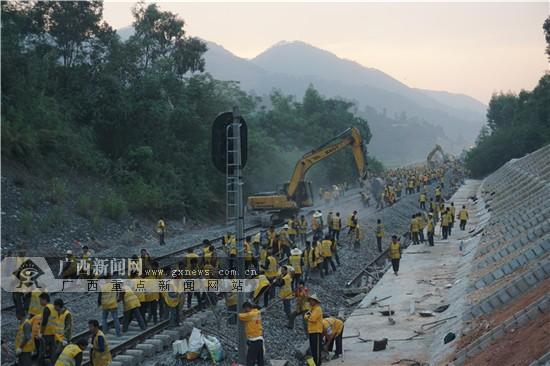 贵港至玉林线路拨接改造完成 玉林融入广西高铁网