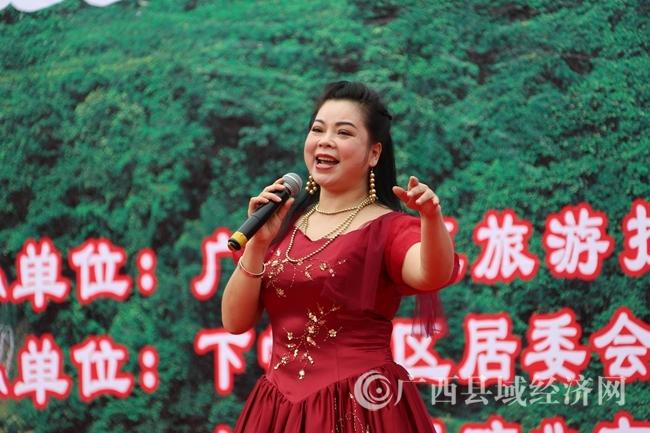广西著名壮族民歌歌后黄春燕献唱壮乡美