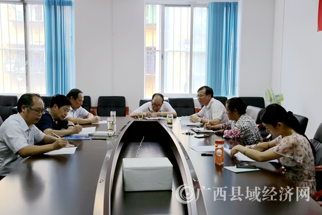 县促会召开2016年第三次会长(扩大)会议