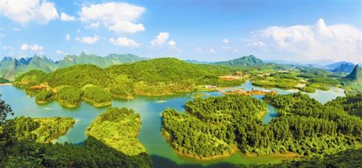[上林县]继往开来谱新篇 上林正是扬帆时