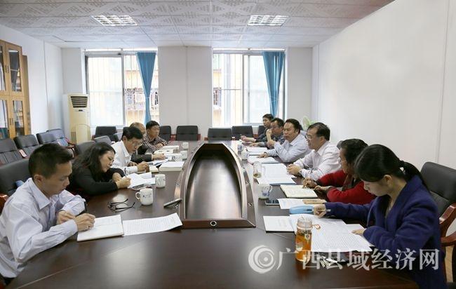南丹县域经济工作座谈会在广西县促会召开