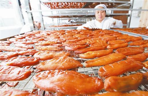 灵川县:三街红薯干 浓浓家乡味