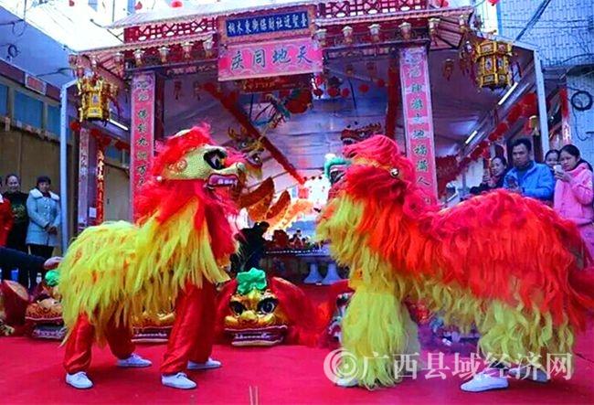 雄狮欢庆一年一度迓圣节.jpg